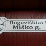 Gatves pavadinimo lentele su simbolika