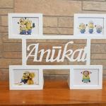 4 Nuotrauku foto rėmelis Anukai